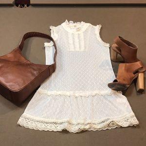 EUC Free People sheer lace dress/top
